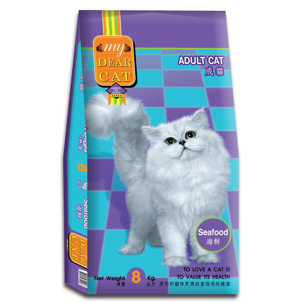 MyDearCat 親密貓貓糧 - 海鮮口味成貓配方 8kg @ Y!購物