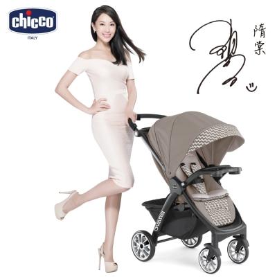 chicco-Bravo極致完美手推車限定版-風格棕