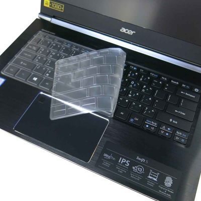 EZstick ACER Swift 5 SF514 專用 奈米銀 TPU 鍵盤保護膜