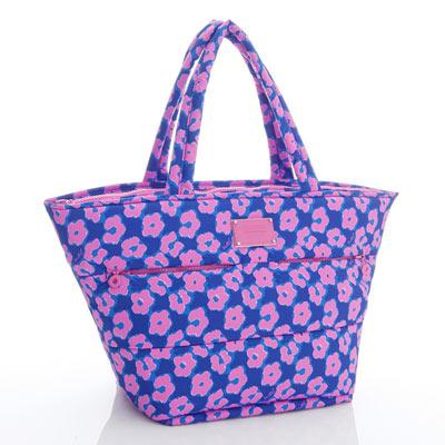 VOVAROVA空氣包-雙口袋手提托特包-粉紫棉花糖