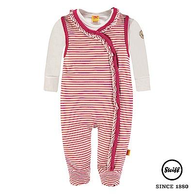 STEIFF德國精品童裝 二件式 長袖上衣+連身衣(套裝)