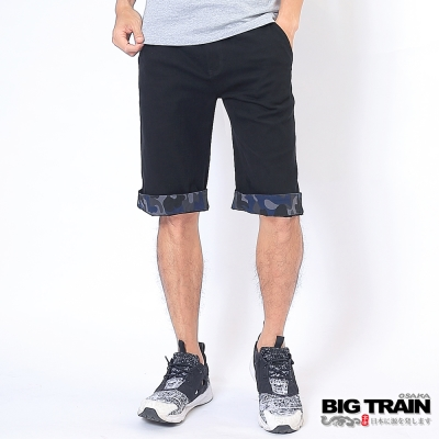 BIG TRAIN BT街頭短褲-男-黑色