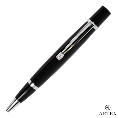 ARTEX 雅緻漫遊款原子筆 亮銀/黑管