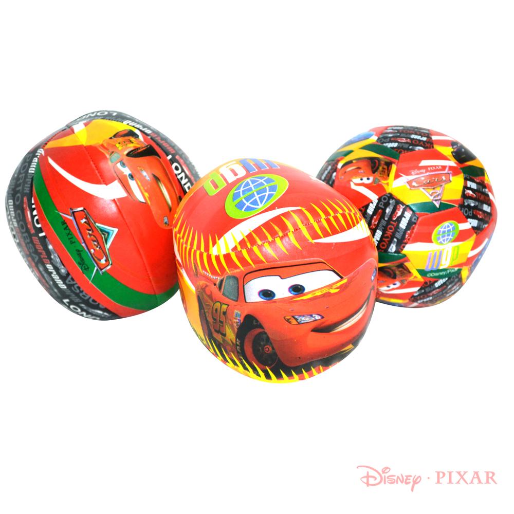 《凡太奇》美國品牌【迪士尼DISNEY】5.5吋Cars充棉球套裝組(3入)