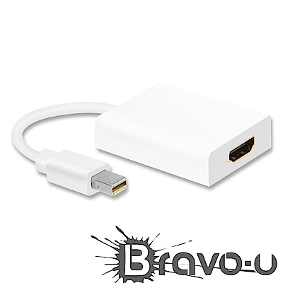 Bravo-u Mini Displayport to HDMI視訊傳輸線(2入組)