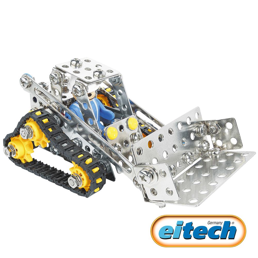 德國eitech益智鋼鐵玩具-鏟雪車 C89