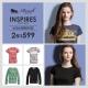 Roush LA女孩必備美式T-Shirt 任選2件$599