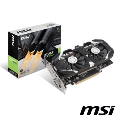 MSI微星 GeForce GTX 1050 Ti 4GT OC 顯示卡