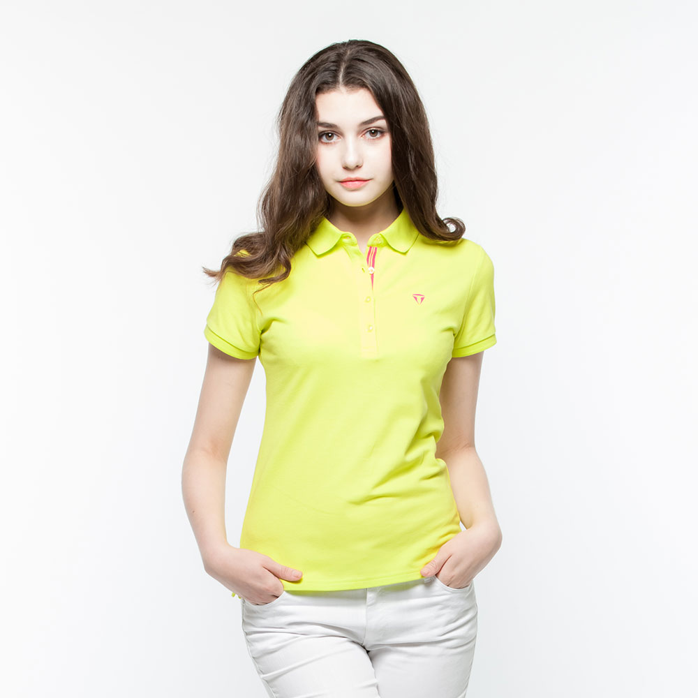 Hang Ten - 女裝 - 運動POLO衫 -橄欖