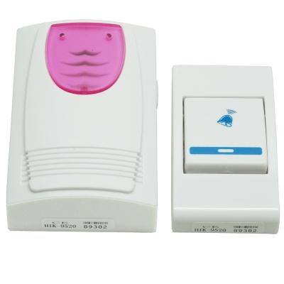 經典超高頻遠距36首音樂電子雙無線門鈴送12V電池(HIK-9520)