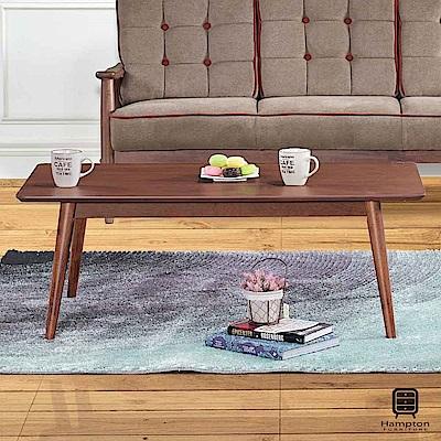漢妮Hampton默文胡桃大茶几-110x60x43cm