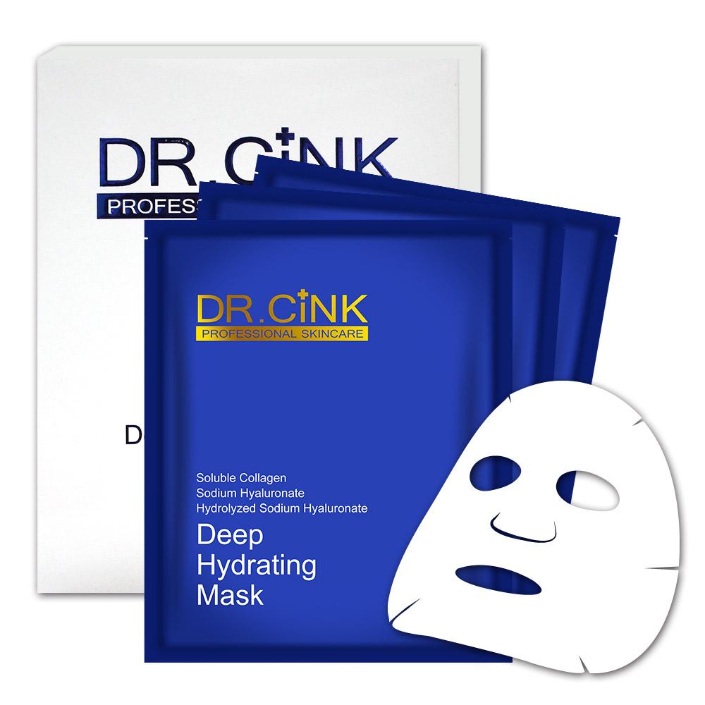 DR.CINK達特聖克 水微晶長效鎖水面膜 3片