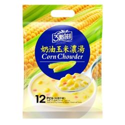 3點1刻 奶油玉米濃湯(18gx12包)