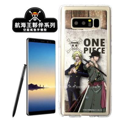 航海王夥伴系列 Samsung Galaxy Note8 空壓殼(香吉士&amp...