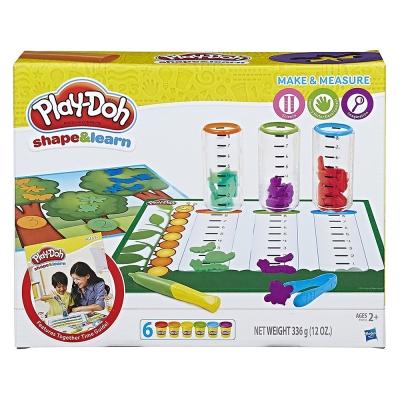 培樂多Play-Doh 創意DIY黏土 測量比較遊戲組 B9016