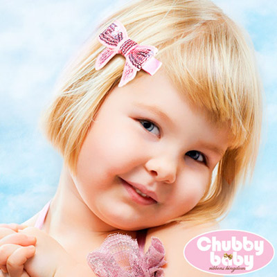 Chubby Baby巧比貝比 兒童寶寶髮夾Sparkle