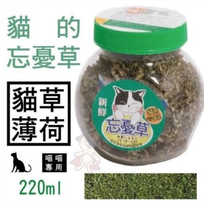 貓的忘憂草-貓草薄荷220ml【C-F204】3罐組