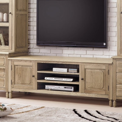 Bernice-諾伊5.3尺白橡全實木電視櫃-160x48x58cm