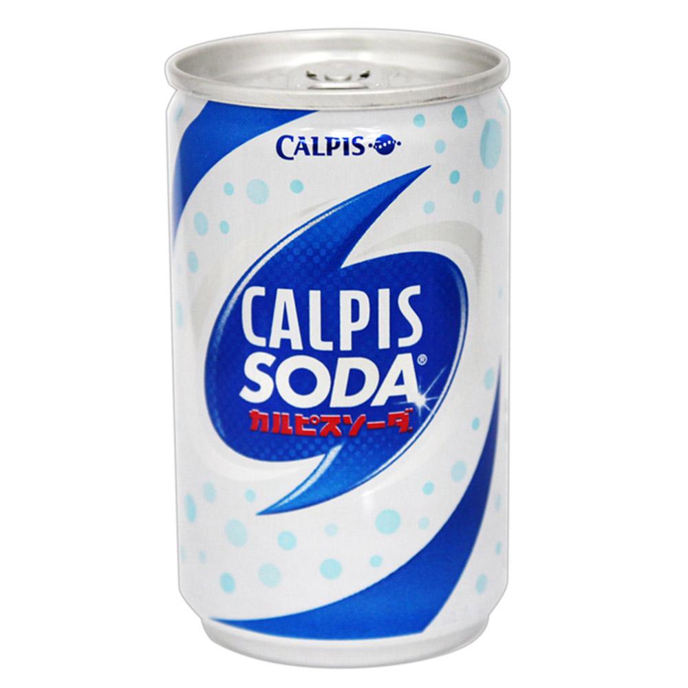 Calpis  可爾必思[蘇打] (160mlX6罐入)