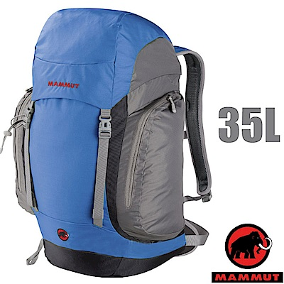 【瑞士 MAMMUT 長毛象】Creon Classic 35L 超透氣登山背包_梅林藍
