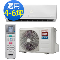 SAMPO聲寶4-6坪頂級變頻單冷冷氣 AM-PC28D/AU-PSC28D