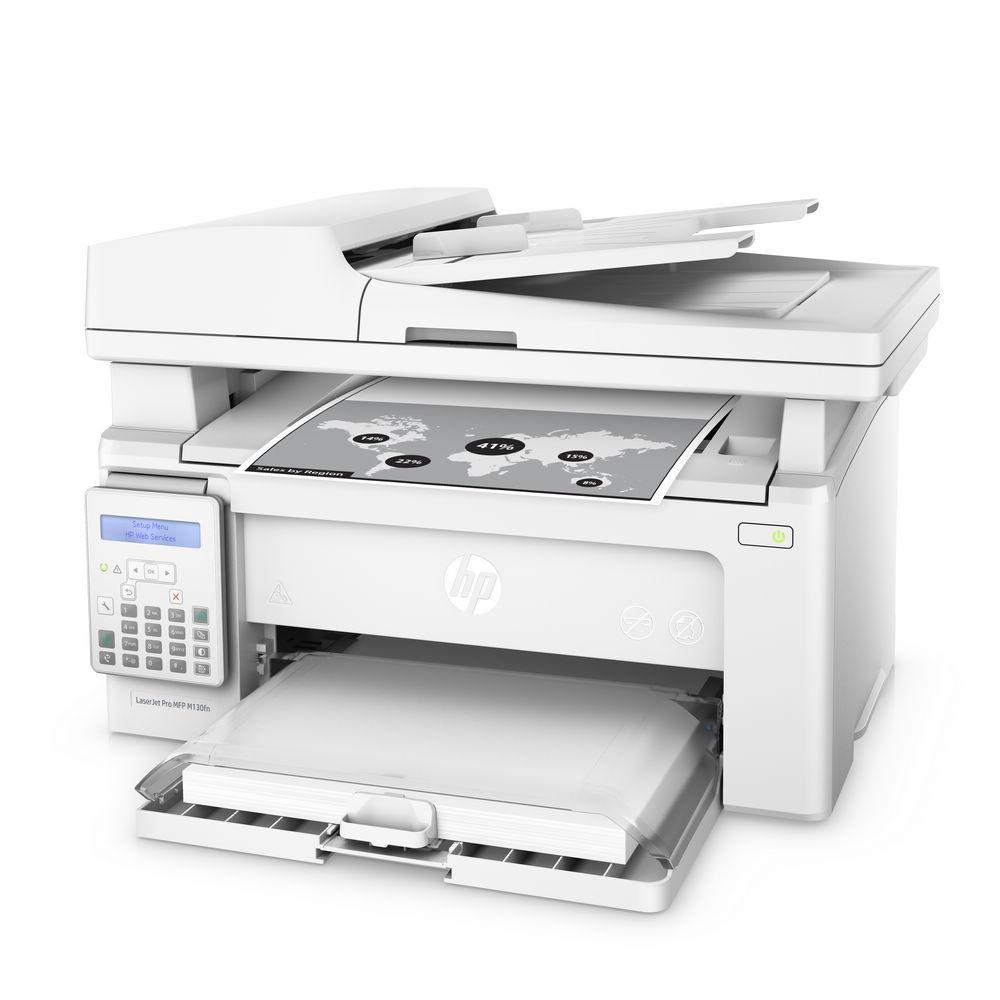 HP LaserJet Pro  M130fn 黑白傳真四合一雷射印表機