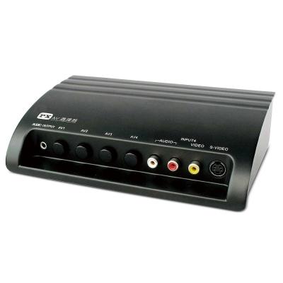PX大通4進1出AV+S訊號切換器 AV-41M