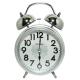 經典型音樂打鈴雙耳貪睡鬧鐘-W-717-三色