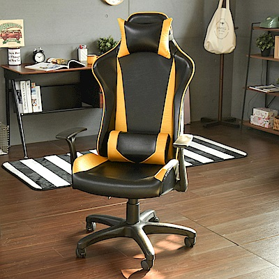 Home Feeling 電腦椅/辦公椅/F1電競椅(2色)-65x65x140cm