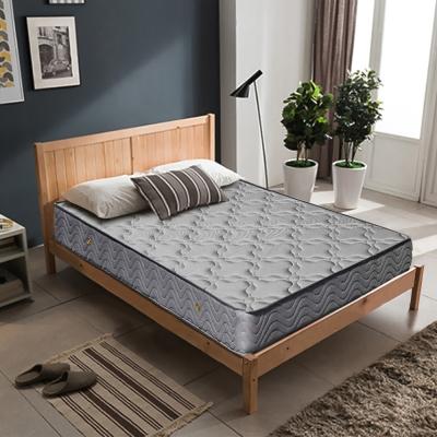 萊諾比-喬菲3D透氣網布二線五段式獨立筒床墊-單人