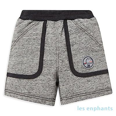 les enphants小恐龍大口袋彈力短褲 (2色可選)