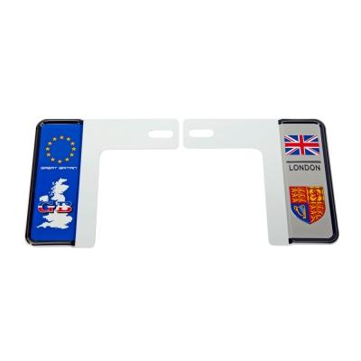新7碼汽車牌-國家別裝飾牌框(英國)