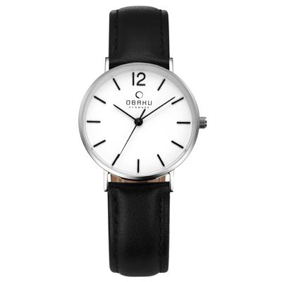 OBAKU 精粹重現十週年限定真皮錶款-V197LXCWRB/32mm