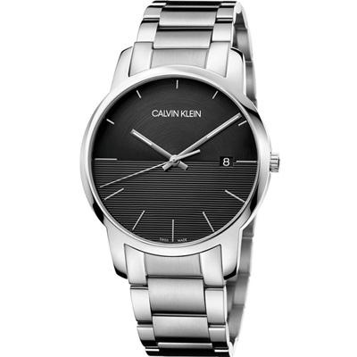 ck錶  City都會系列時尚腕錶 (K2G2G14C)黑/43mm