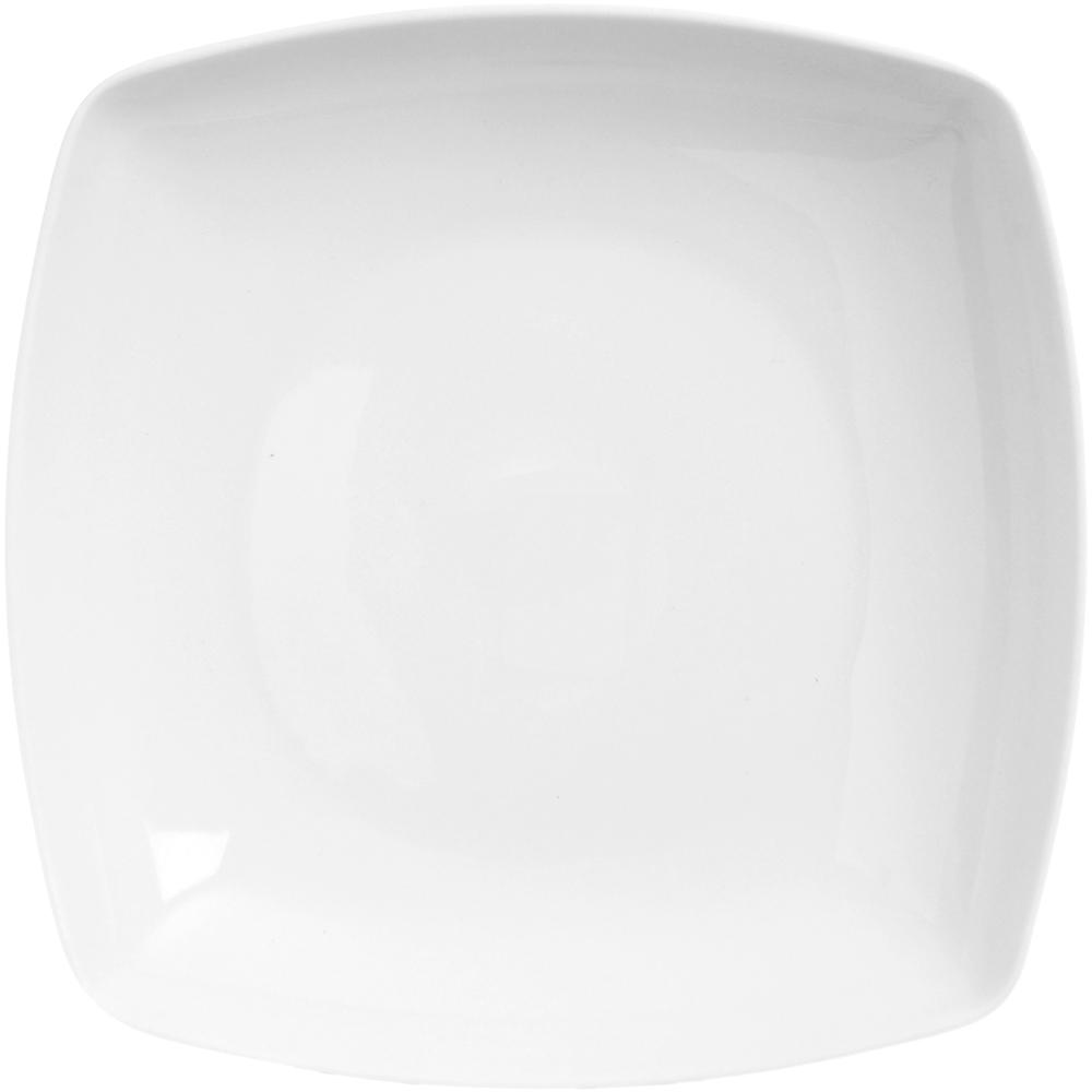EXCELSA 白瓷濃湯碗(方20.5cm)