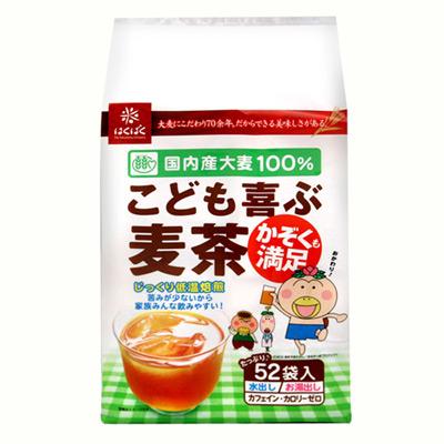 Hakubaku  全家麥茶 52P(416g)