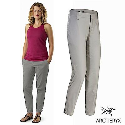 Arcteryx 24系列 女 Nydra 休閒縮口長褲 淡卡其