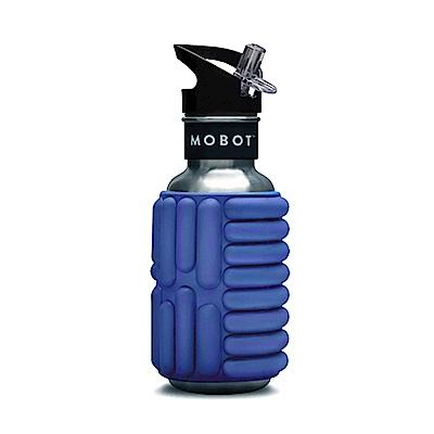 MOBOT 18oz 按摩滾輪水壺 - 535cc 藍色