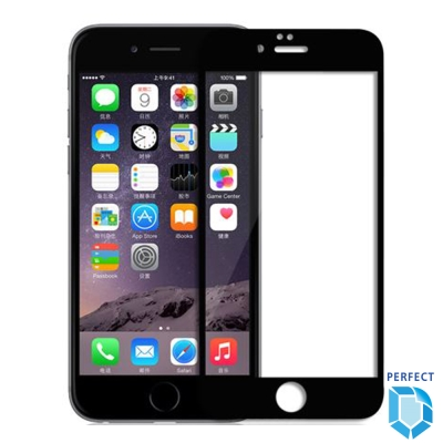 [Perfect]全面保護 2.5D滿版鋼化玻璃保護貼 9H iPhone 8P...