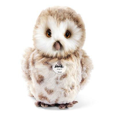 STEIFF德國金耳釦泰迪熊 - Owl 貓頭鷹 (22cm)