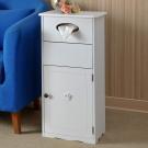 【Asllie】環保箱/圾垃桶-白色 -36x26x73 cm