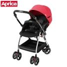 Aprica 四輪自動定位導向型嬰幼兒手推車 Optia新視野 熱力紅