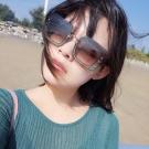 MIU MIU太陽眼鏡 歐美大方框亮粉款/銀-漸層灰#MU01R UES0A7