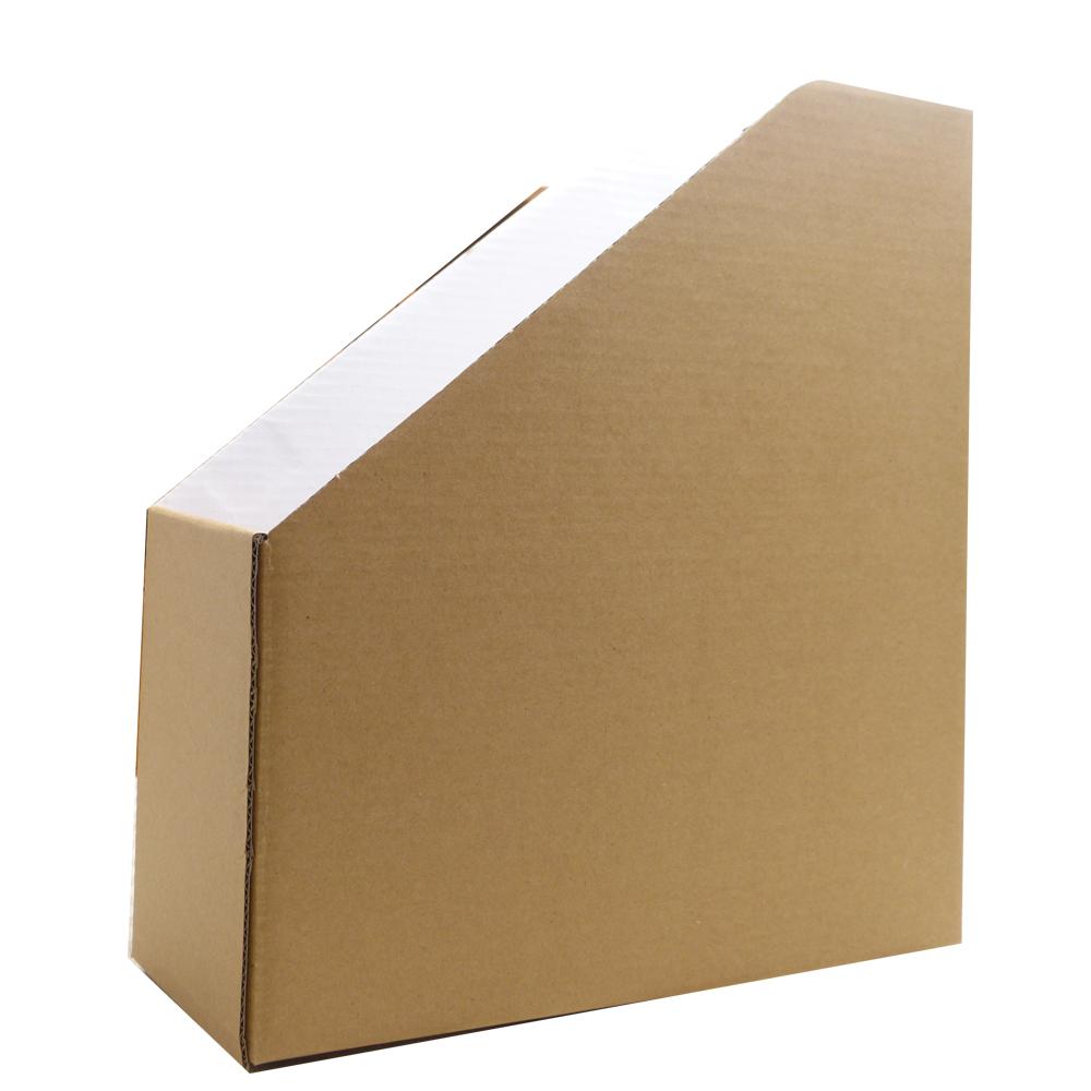 神綺町 日本 厚版 牛皮 雜誌架2入-文件收納盒