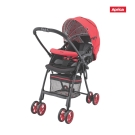 Aprica FLYLE飛舞系列 輕量嬰幼兒雙向手推車 櫻花紅