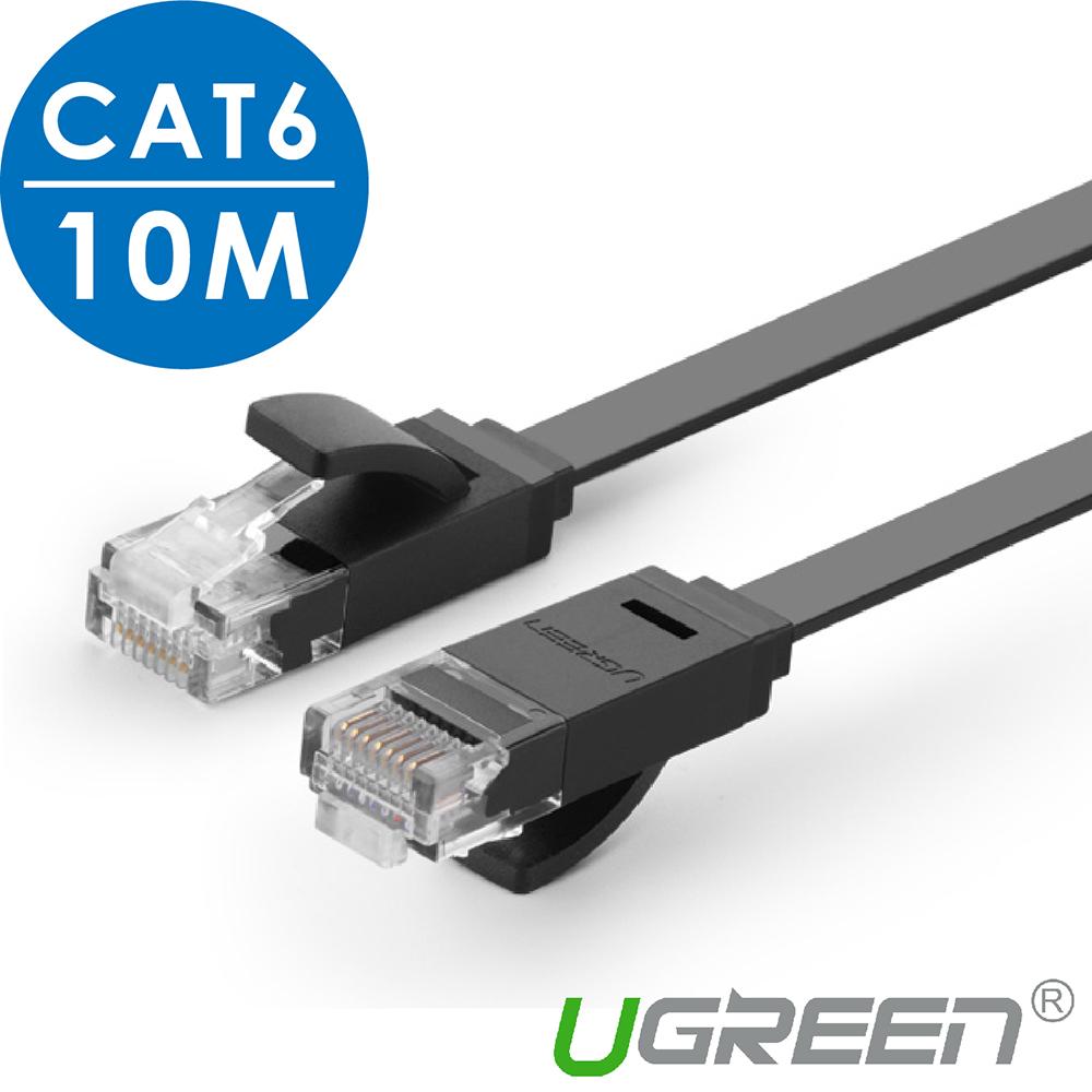 綠聯 CAT6網路線 FLAT版 10M