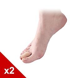 糊塗鞋匠 優質鞋材 J12 纖維矽膠保護套 拇指保護套 2雙