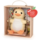 美國 Apple Park 盪鞦韆玩偶彌月禮盒 - 小鴨