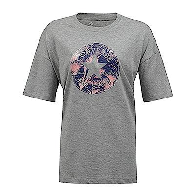 CONVERSE-女休閒短T恤10006462-A02-灰