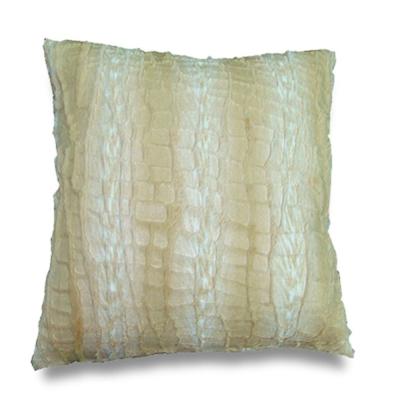 范登伯格 -  潮流 風格雙面抱枕 - 白岩紋 (50x50cm)